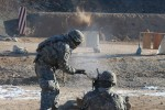 Air defenders qualify on machine guns in South Korea