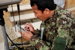 Afghan National Army; picking up the intelligence signal