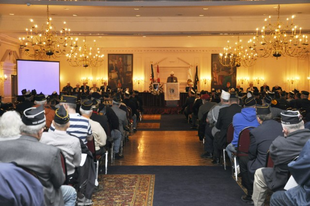 Hundreds of American Legion leadership from throughout New York State converged on the state's Capital District to address Veteran, youth, and community issues and the Watervliet Arsenal was there.