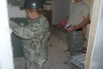 Military engineers helps build homes for Navajo Nation