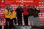 WCAP packs World Cup bobsled podium
