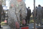 Mustang soldiers immortalized on Warriors Walk