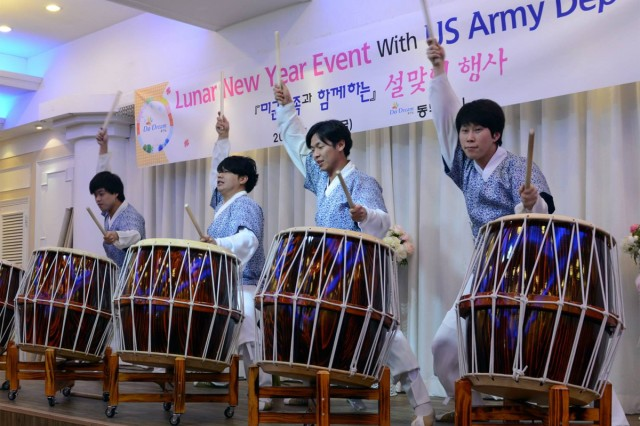 Koreans will celebrate Lunar New Year Jan. 31, 2014, and mark the beginning of the Year of the Horse. Eighth Army Commanding General Lt. Gen. Bernard S. Champoux wished the Korean people a happy Lunar New Year in a message.