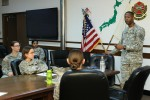 Female Soldiers learn reconditioning methods during mentorship program at Camp Zama