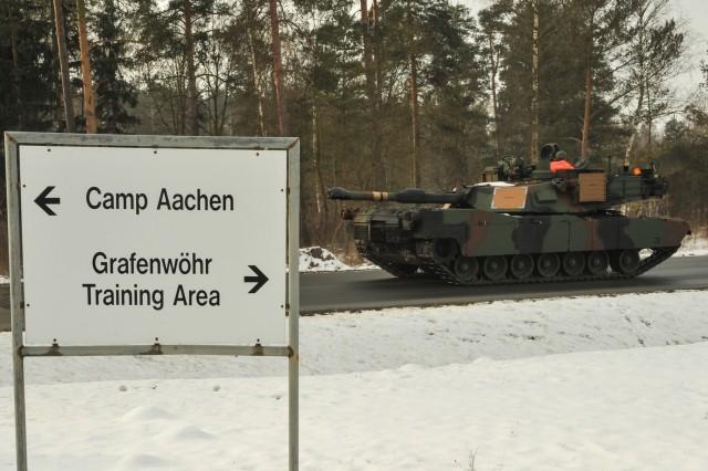 Heavy armor returns to Europe