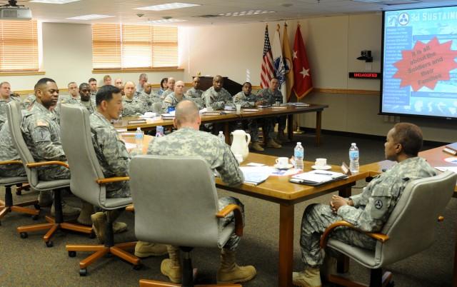 XVIII Airborne Corps Rear Detachment Commander visits 3d ESC