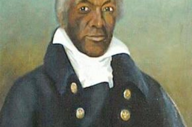 Painting of James Armistead Lafayette (public domain)