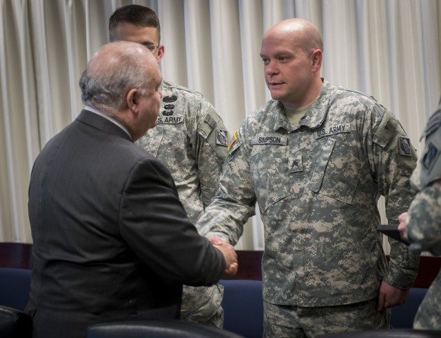 Westphal recognizes enduring & unique contributions of the Corps
