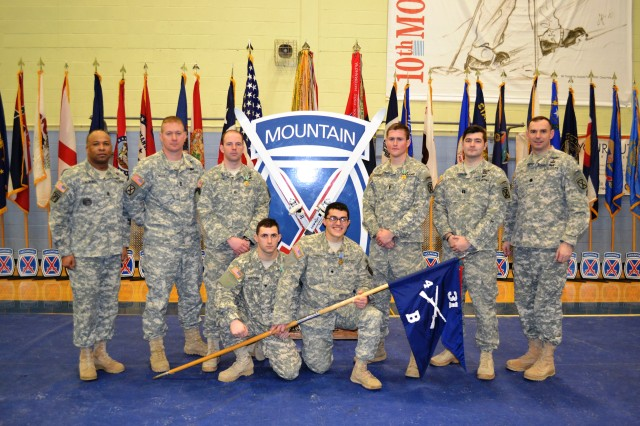 """""""Polar Bear"""" Soldiers from 4th Battalion, 31st Infantry Regiment, 2nd Brigade Combat Team, took home first- and third-place honors."""