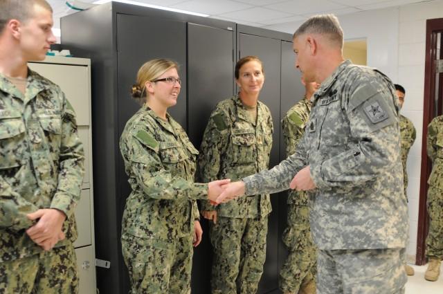 SMA Chandler visits Joint Task Force Guantanamo