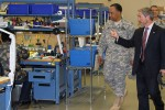 AMC Commander visits Prototype Integration Facility