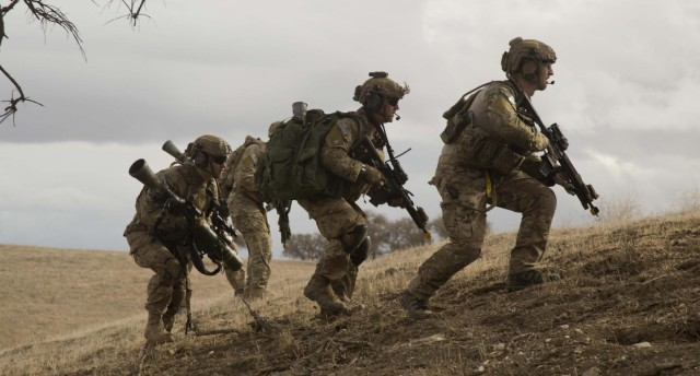 75th Ranger Regiment task force training