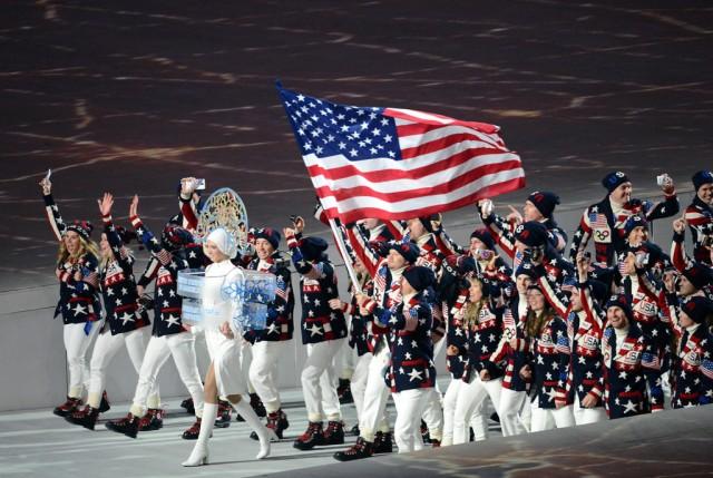 Sochi Parade of Athletes