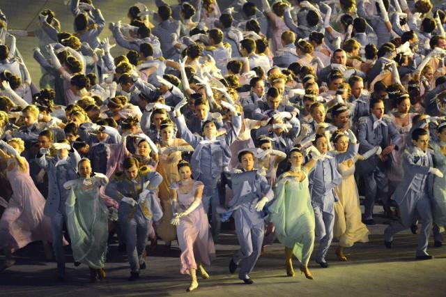 Olympics Opening Ceremony 'Natasha's Ball'