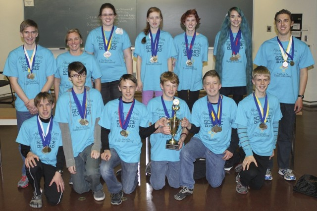 ALBUQUERQUE, N.M., -- The Albuquerque Area Home Schoolers team, coached by District employee Thomas Plummer, placed first in the 2014 Central New Mexico Regional Science Olympiad, held at UNM Feb. 1., and will advance to the State competition held later in February at New Mexico Tech in Socorro, N.M.