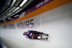 Luge Doubles Run