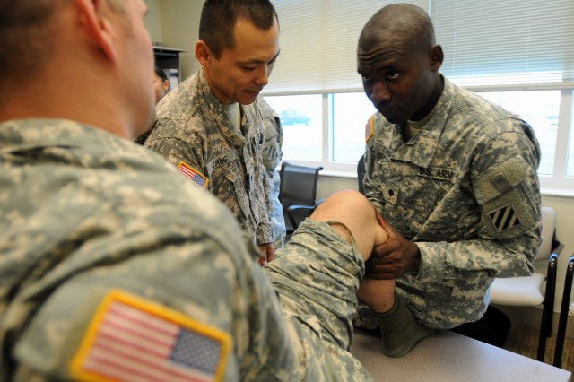 SCMH is near the Soldier's work place to minimuze time away from their unit. SCMH integrate physical theraphy assets.