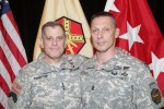 Lt. Gen. Mike Ferriter and CSM Jeff Hartless
