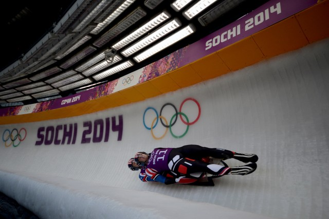 Luge Training Run