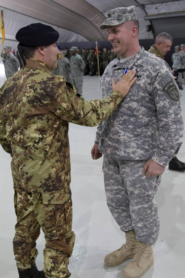 Col. Woods receives medal