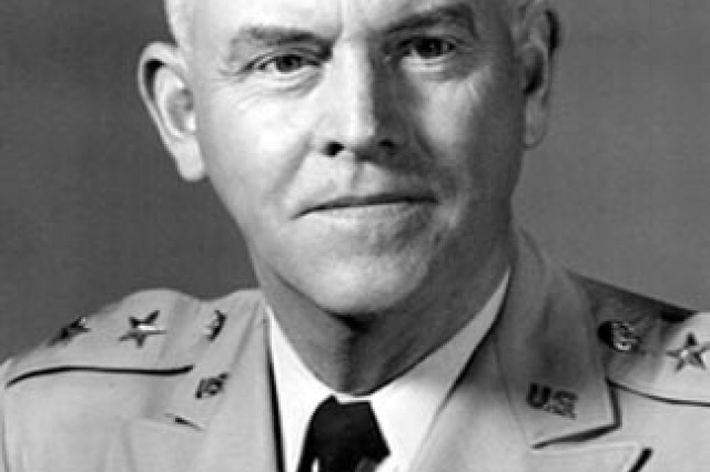 "In 1962 Maj. Gen. Francis ""Frank"" McMorrow became the first commander of the Army Missile Command.  On Aug. 24, 1963, he died suddenly. MICOM's new research and development facility (building 5400) was dedicated to his memory as the Francis J. McMorrow Missile Laboratories on March 12, 1964."