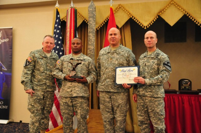 Chaplain assistant strengthens unit resiliency, recognized as Hood Hero