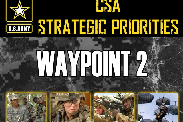 Waypoint #2: Follow up to CSA's Marching Orders (cover image)