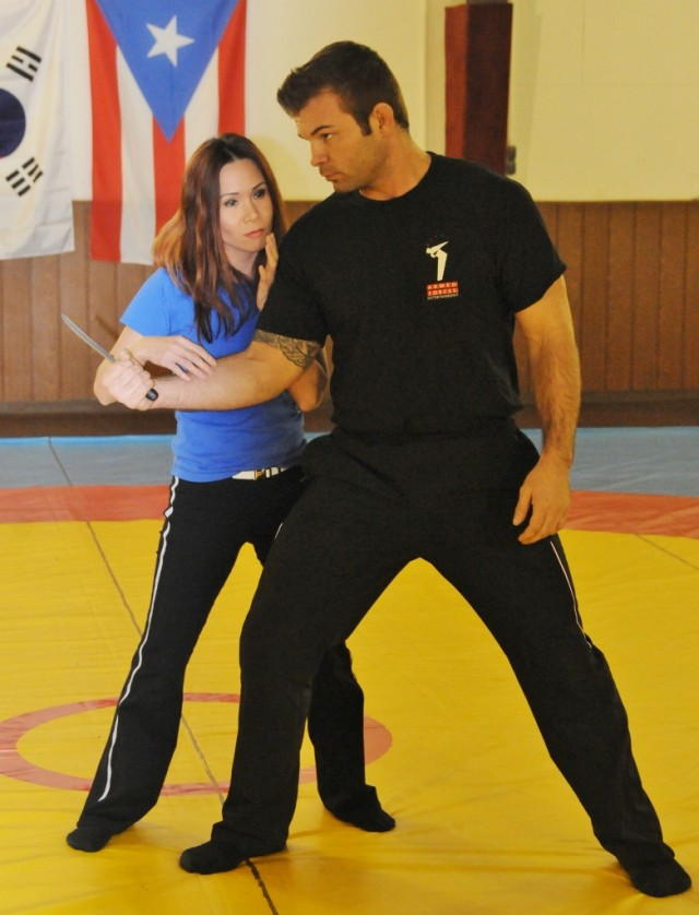 Self-defense is about empowerment.