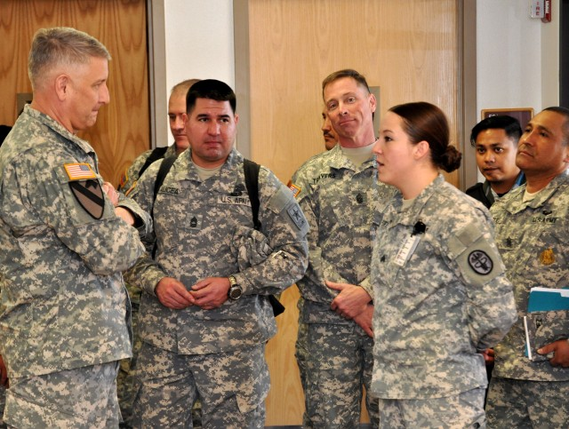 SMA Chandler to NTC Soldiers: Trust, respect essential to Army profession