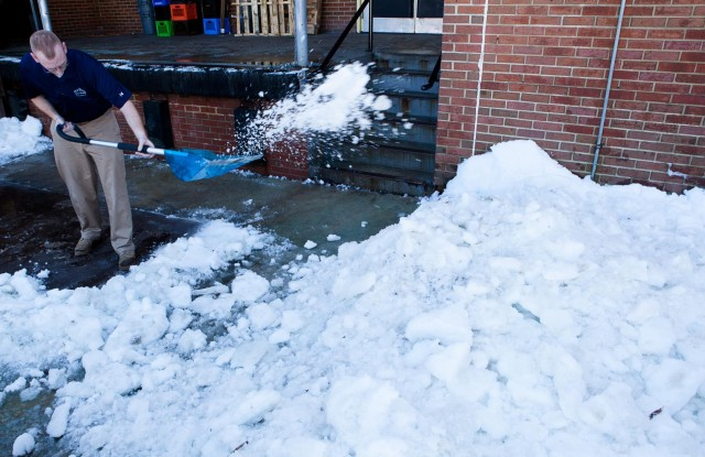Snow, ice removal remain a mission priority