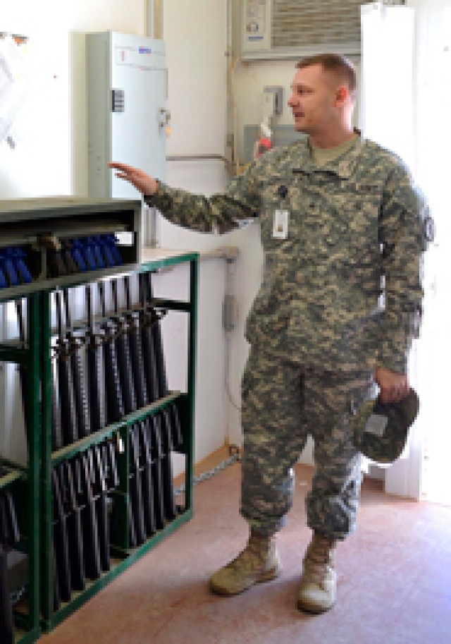 Arms room makes training hands on for Fort Bliss