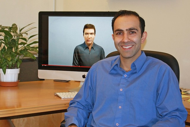 Peter Khooshabeh is an ARL research fellow in ICT's virtual humans group. His work explores the social effects that virtual humans can have on people in areas including culture, thought and emotion.