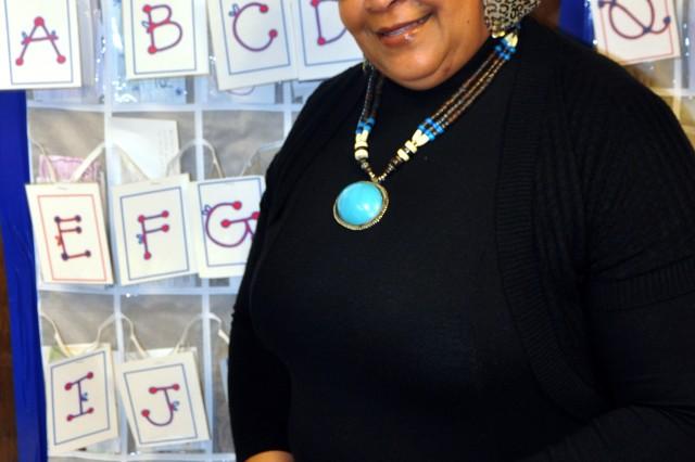 Wilhemina McKinney, a sixth grade teacher, was named Teacher of the Year for C.C. Pinckney Elementary School, Fort Jackson, S.C.