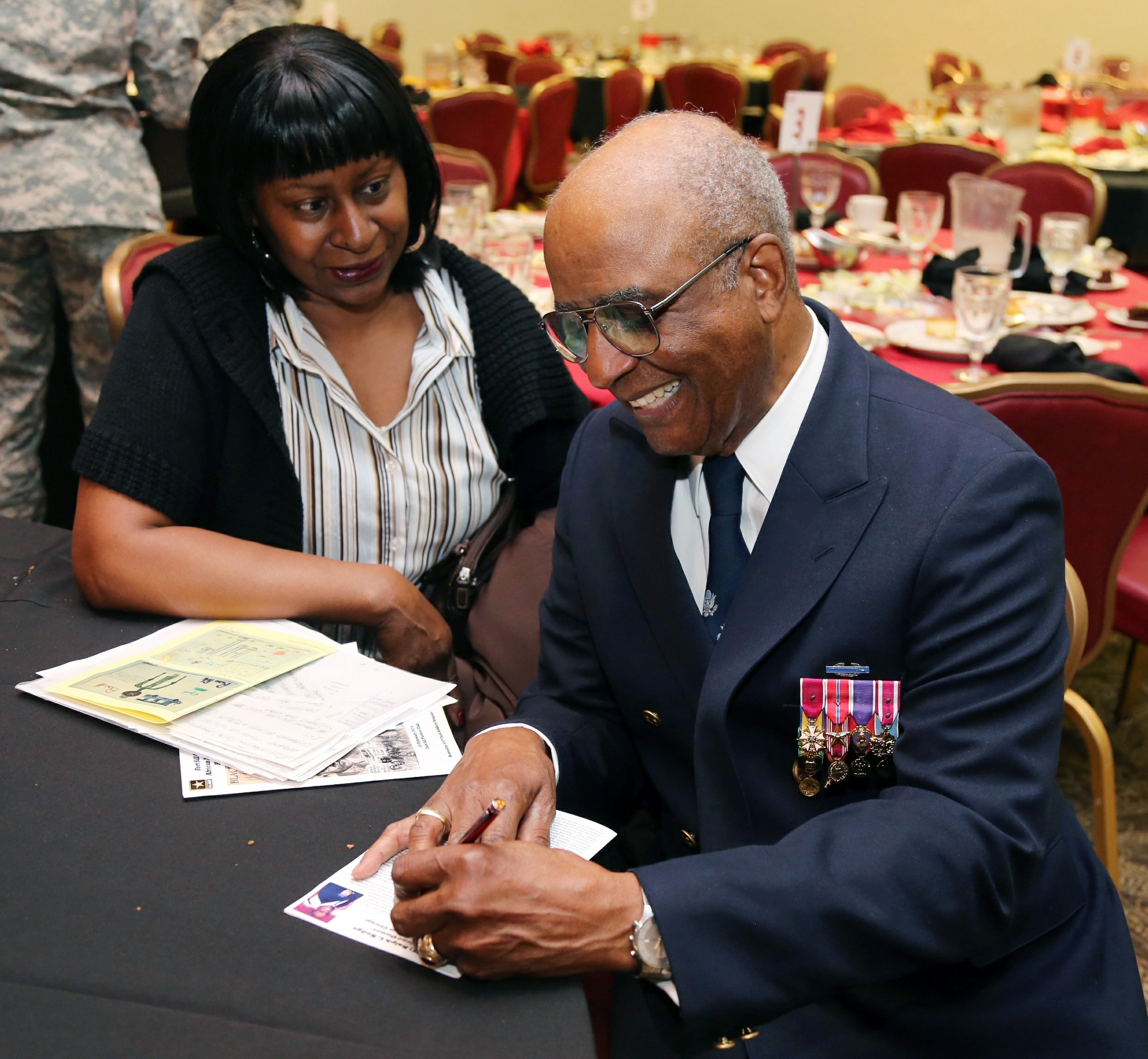 fort sill celebrates african american black history month hodge was the guest speaker and he spoke about the korean war the u s constitution and his love for america photo credit jeff crawley