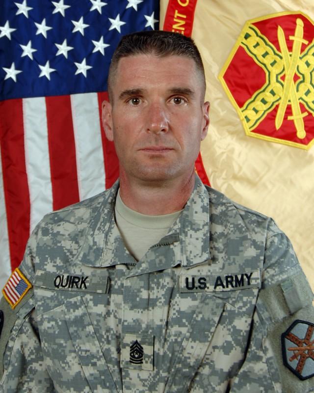 Command Sergeant Major Patrick M. Quirk