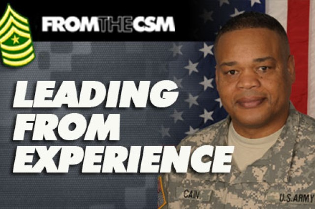 Command Sgt. Maj. Leeford Cain, U.S. Army Combat Readiness/Safety Center
