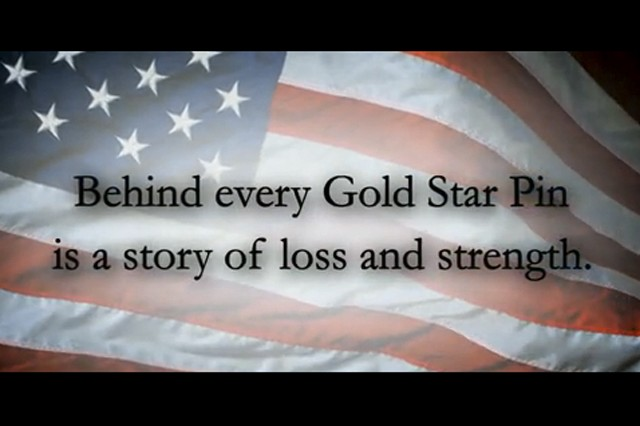 PSAs raise awareness of Gold Star and Next-of-Kin lapel pins