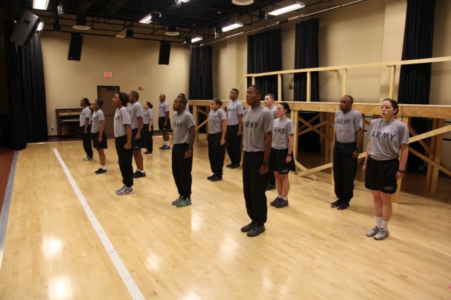 The cast is expected to perform solo and ensemble musical numbers as well as dance in the 2014 Soldier Show.  The U.S. Army Installation Management Command's Army Entertainment division hosts show rehearsals March 6, 2014, at Fort Sam Houston Theatre in San Antonio.