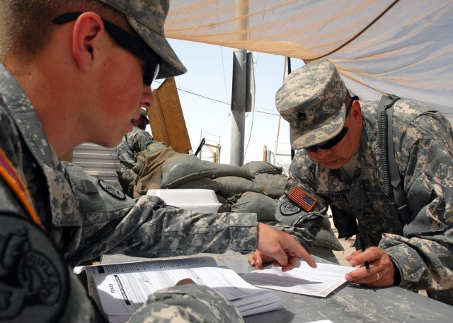 Soldiers could impact direction of America -- by voting