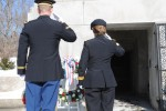 W.H. Harrison Presidential Wreath Laying Ceremony 2014