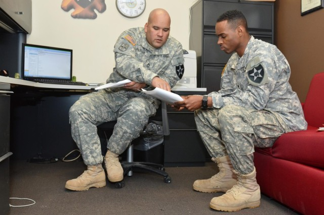 3-2 SBCT career counselor sets record straight on re-enlistment