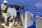 Army mariners conduct live-fire gunnery exercise at sea