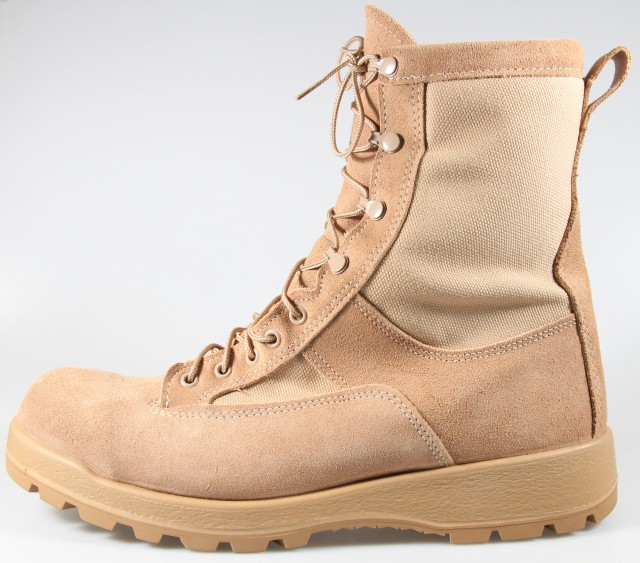 Army combat boots, uniforms update