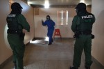 Bavarian riot police hone essential skills at US training area