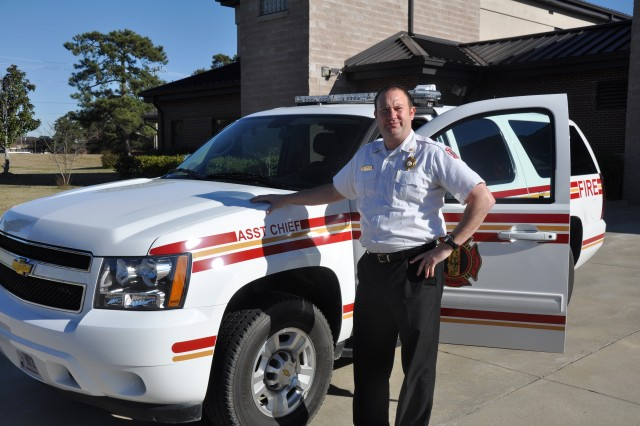 Fort Jackson Assistant Fire Chief Scott Dollman has been named IMCOM Atlantic Region's Fire Officer of the Year. Dollman's firefighting career spans 24 years, beginning with a four-year stint as a firefighter for the Air Force.