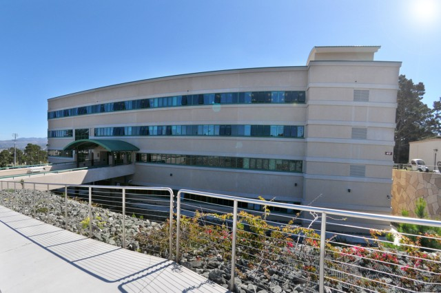 PRESIDIO OF MONTEREY, Calif. -- The Presidio of Monterey's Khalil Hall, a state-of-the-art language studies building. The Presidio of Monterey Directorate of Public Works Energy Management staff recently won recognition as the secretary of the Army's top achiever in energy conservation in the small community category for fiscal year 2013.