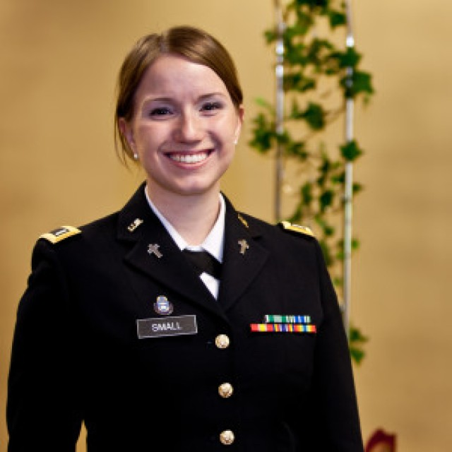 First female chaplain in a combat arms unit