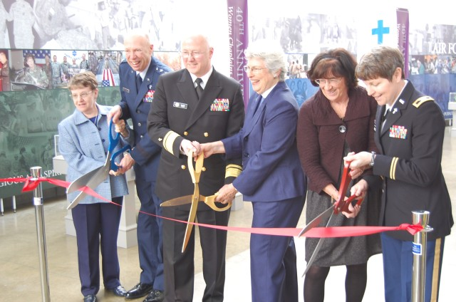 Ribbon Cutting - 40 Years of Women in the Military Chaplaincy