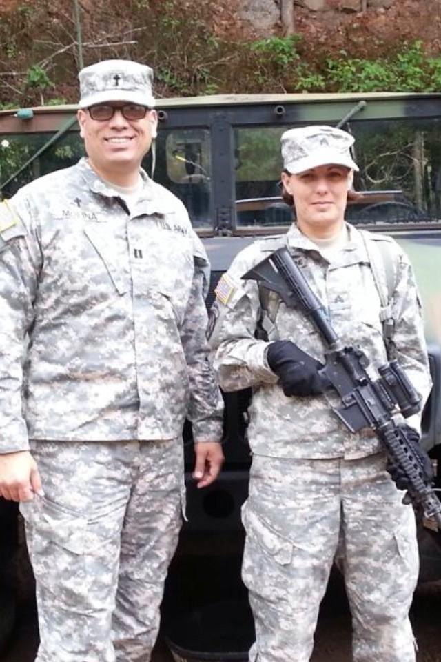 Chaplain Assistant Sgt. Laura Champagne,