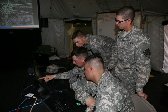 Guard, Soldiers fly manned, unmanned aircraft, train together